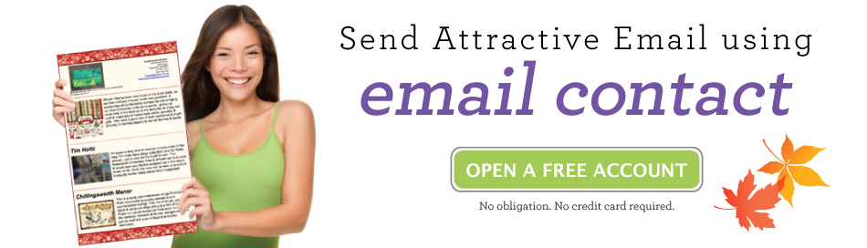 Send Attractive Email Using Email Contact: The Cheap Email Marketing Service